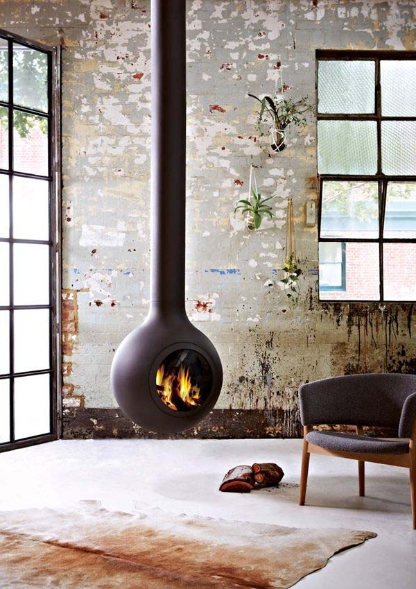 Minimalist Fireplace Ideas-14-1 Kindesign