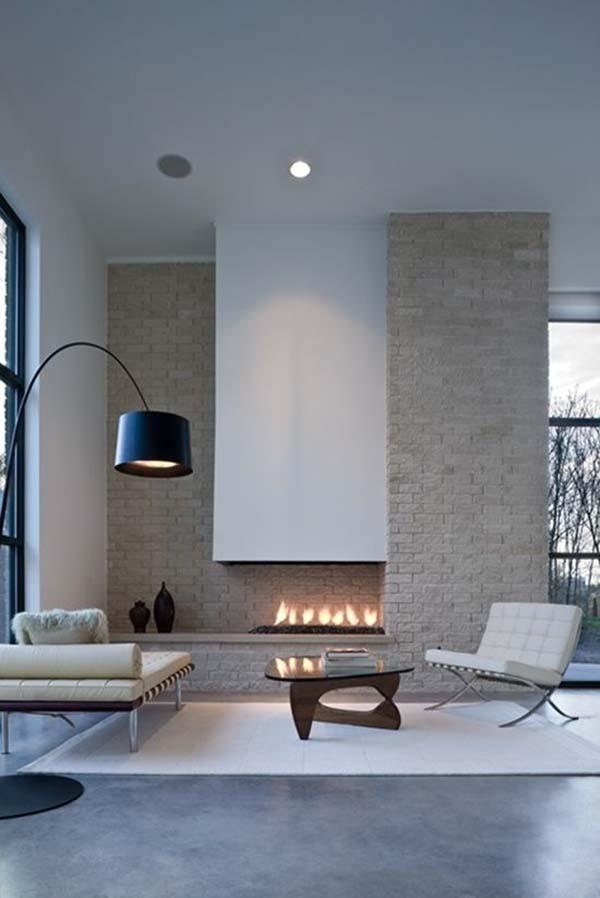 Minimalist Fireplace Ideas-15-1 Kindesign