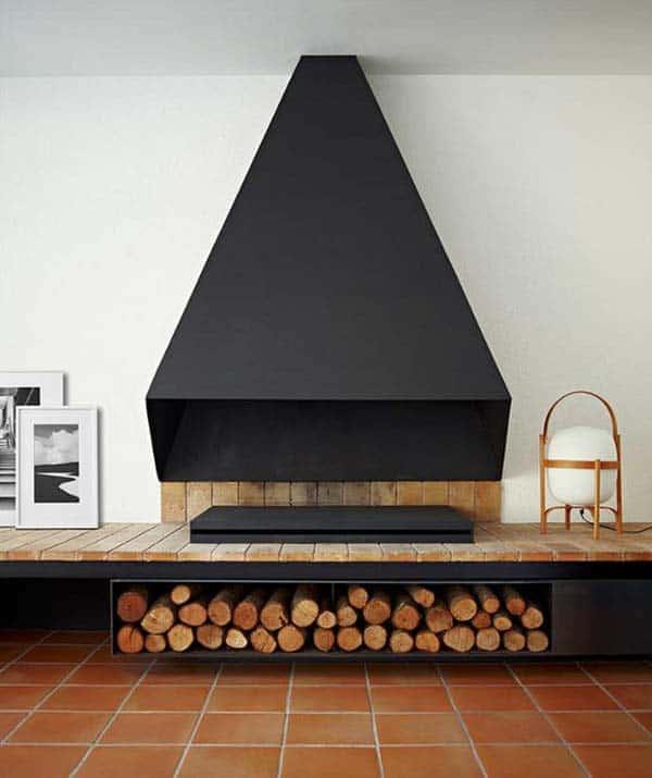 Minimalist Fireplace Ideas-18-1 Kindesign