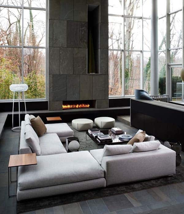 Minimalist Fireplace Ideas-19-1 Kindesign