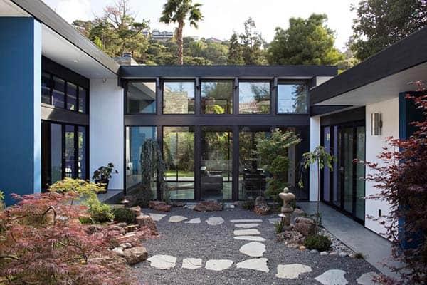 Modern Atrium House-Klopf Architecture-21-1 Kindesign