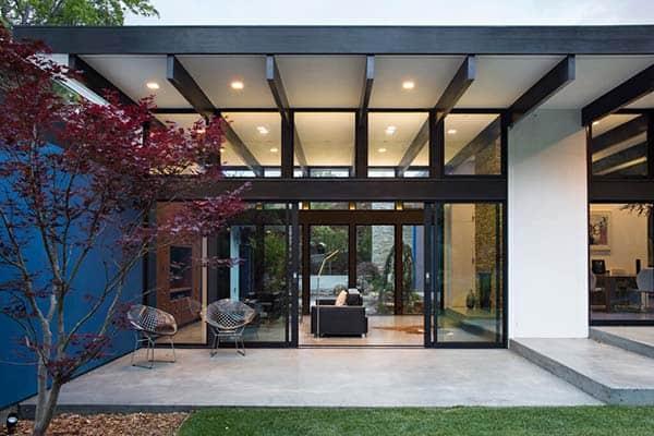 Modern Atrium House-Klopf Architecture-26-1 Kindesign