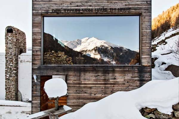 featured posts image for Striking transformation of 14th century mountain chalet in Italy