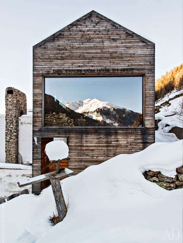 Modern Mountain Chalet-Otmar Prenner-01-1 Kindesign