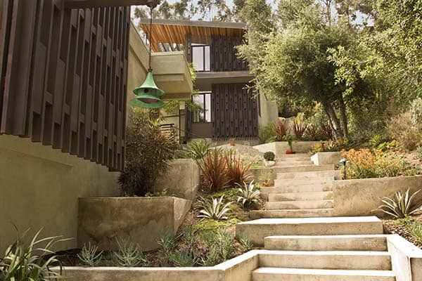 featured posts image for Fascinating mid-century modern property in Silver Lake hills