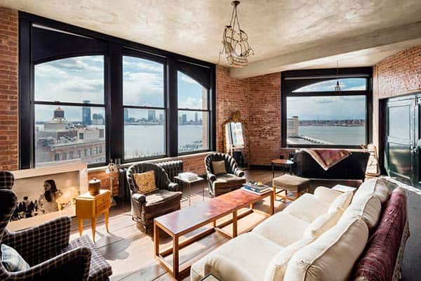 featured posts image for Industrial-chic SoHo loft with Hudson River views