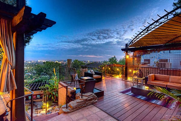featured posts image for Spanish style Hollywood Hills hideaway with jaw-dropping views