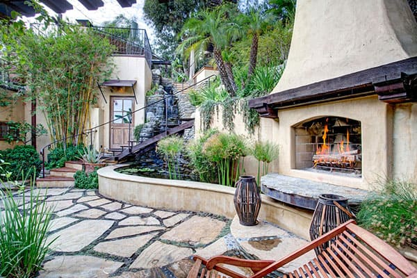 Spanish-Style-Home-Hollywood Hills-21-1 Kindesign