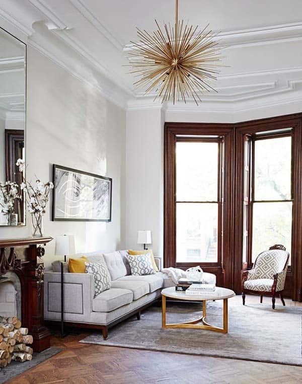 Stylish Living Room Design Ideas-12-1 Kindesign