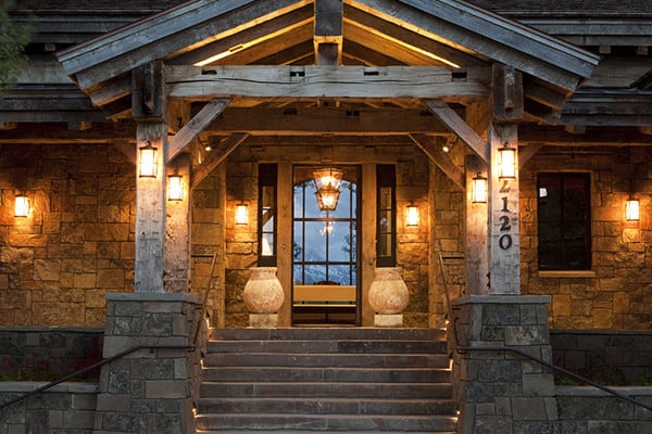 featured posts image for Breathtaking traditionally styled mountain home in Jackson Hole