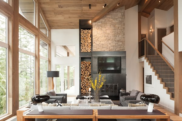 featured posts image for Modern mountainside chalet in Whistler focused on entertaining