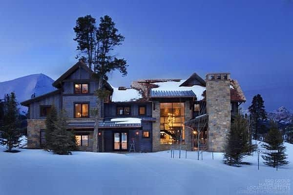 featured posts image for Sumptuous mountain retreat in Montana: Castle in the Sky