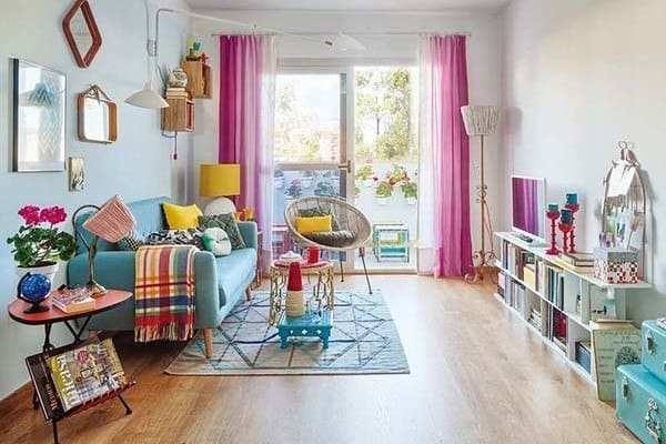 featured posts image for An apartment in Spain brimming with luminosity and color
