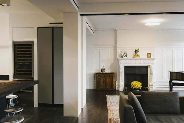featured posts image for Prewar details and contemporary design in a NY apartment