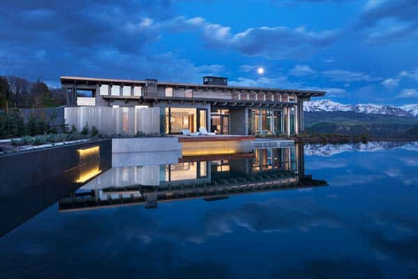 featured posts image for Dramatically designed contemporary mountain home in Telluride