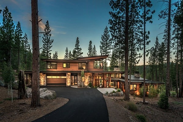 featured posts image for Warm modernism takes center stage in Martis Camp retreat