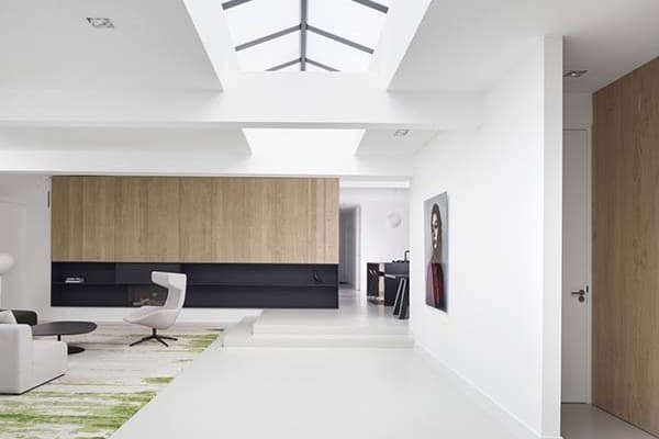 featured posts image for Garage transformed into sleek modern home in Amsterdam