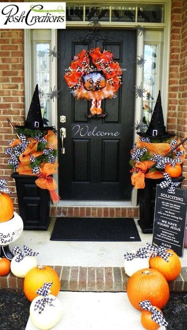 37 Spooktacularly Amazing Outdoor Halloween Ideas