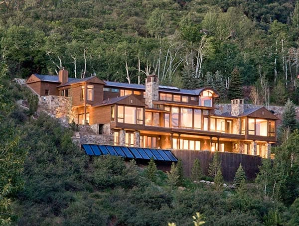 Red-Mountain-Home-Charles Cunniffe Architects-01-1 Kindesign