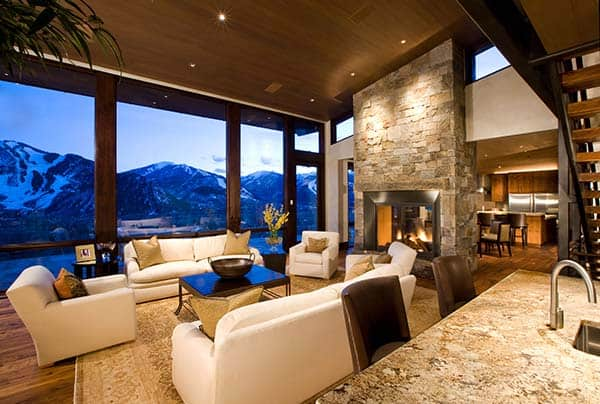 Red-Mountain-Home-Charles Cunniffe Architects-02-1 Kindesign