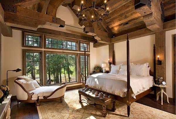 Rustic Bedroom Design Ideas-06-1 Kindesign