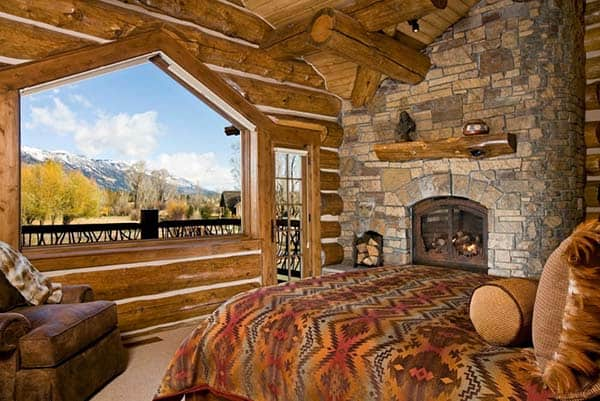 Rustic Bedroom Design Ideas-08-1 Kindesign