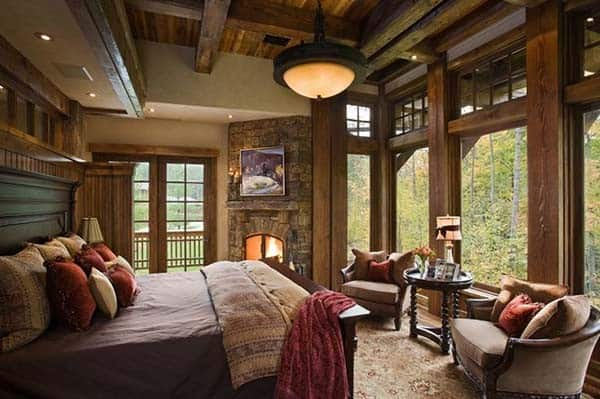 Rustic Bedroom Design Ideas-11-1 Kindesign
