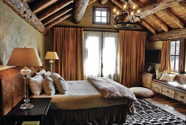 Rustic Bedroom Design Ideas-12-1 Kindesign
