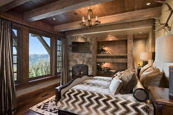 Rustic Bedroom Design Ideas-14-1 Kindesign
