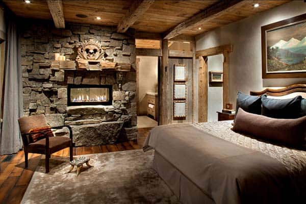 Rustic Bedroom Design Ideas-20-1 Kindesign