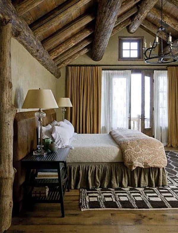 Rustic Bedroom Design Ideas-23-1 Kindesign