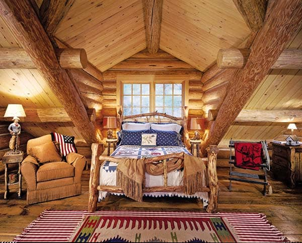 Rustic Bedroom Design Ideas-30-1 Kindesign