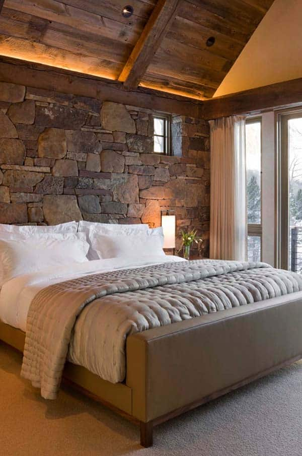 Rustic Bedroom Design Ideas-34-1 Kindesign