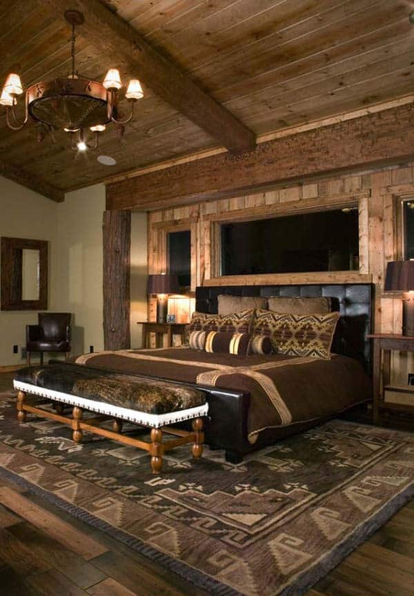 Rustic Bedroom Design Ideas-37-1 Kindesign