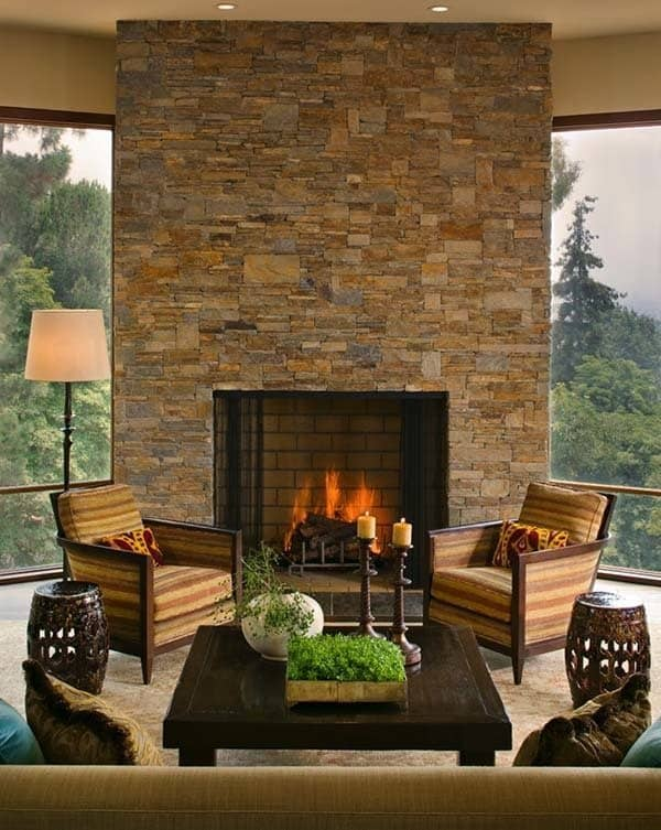Rustic Brentwood Hillside Modern-Everage Design-05-1 Kindesign