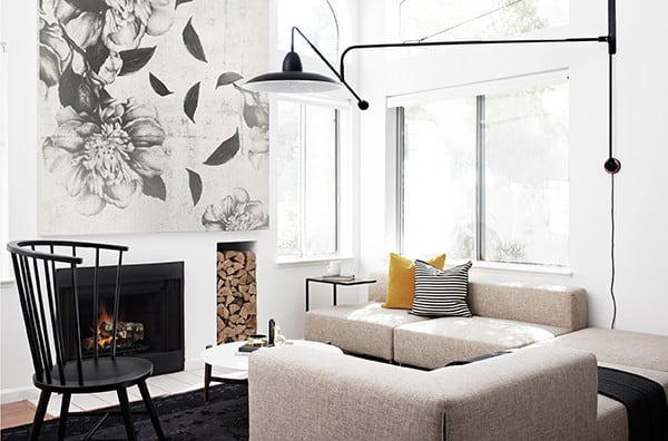 featured posts image for Low budget-high style: Scandi-inspired townhouse in California