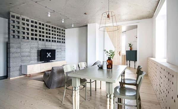 featured posts image for Small apartment featuring Scandinavian minimalism in Russia