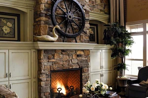 featured posts image for 50 Sensational stone fireplaces to warm your senses