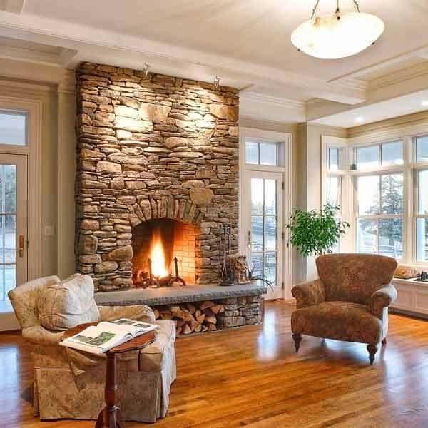 Stone-Fireplace-Design-Ideas-07-1 Kindesign