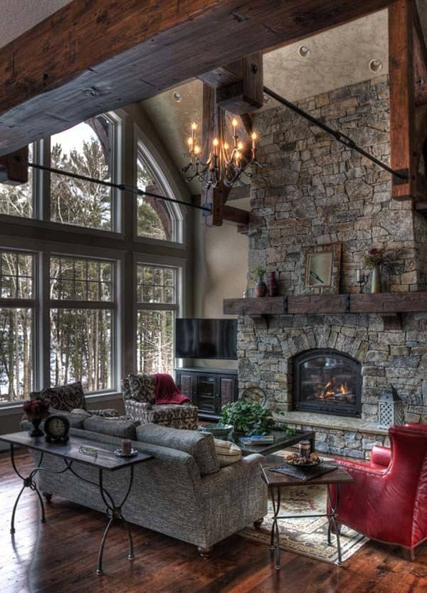 stone fireplace design ideas 35 1 kindesign
