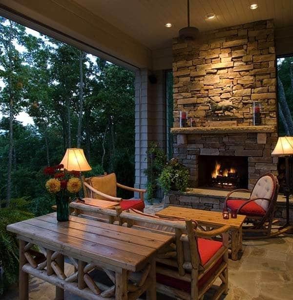 Stone Fireplaces Ideas: 50 Sensational Stone Fireplaces To Warm Your Senses