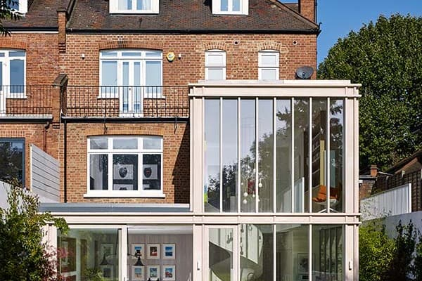 featured posts image for Striking modern update to an Edwardian style home in London
