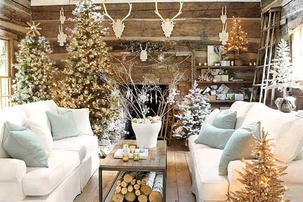 featured posts image for 50 Christmas decorated interiors for a winter wonderland