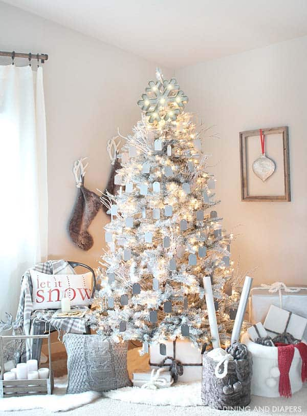 christmas decorating ideas 05 1 kindesign - Winter Wonderland Christmas Decorations