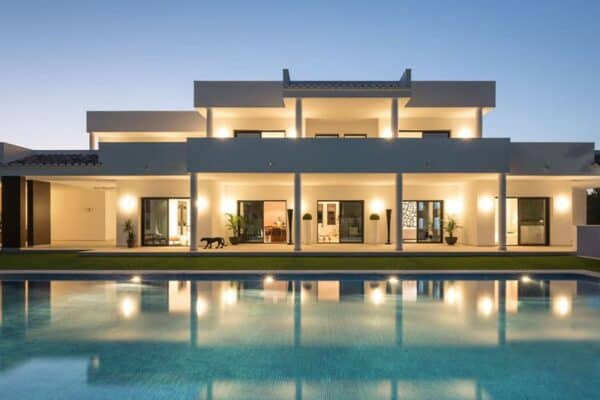 featured posts image for A modern Spanish villa infused with warmth