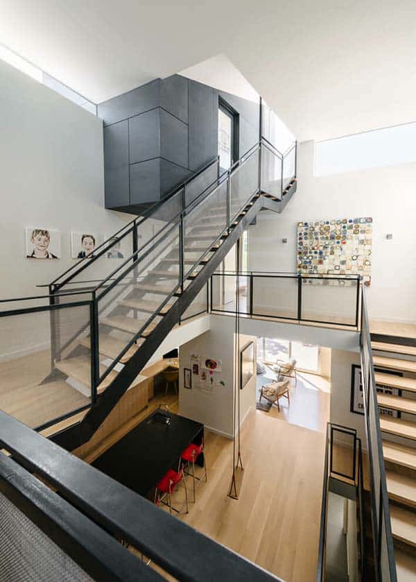 Contemporary Townhouse-Feldman Architecture-10-1 Kindesign