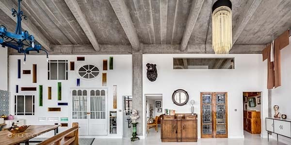 featured posts image for A London loft delights the senses with industrial-retro details