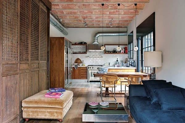 featured posts image for An urban loft respecting its unique history in Barcelona