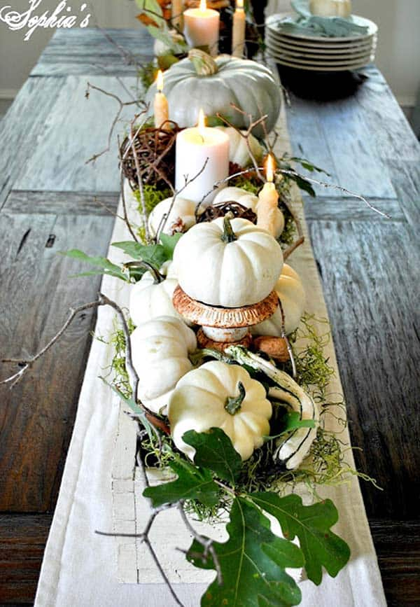 Thanksgiving Table Decor Ideas-17-1 Kindesign
