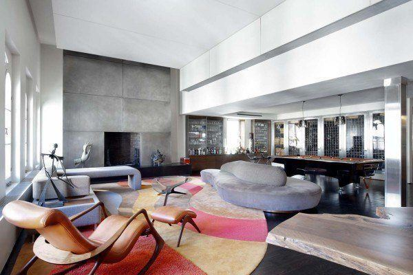 featured posts image for Chic and trendy triplex penthouse in TriBeCa, New York